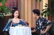 Hương Giang thẹn thùng khi trò cũ tỏ tình trên truyền hình