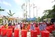 MobiFone tặng 1400 thùng trữ nước ngọt cho người dân vùng hạn mặn miền Tây