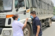 Đề xuất ưu tiên xét nghiệm COVID-19 cho lái xe vận tải tránh ách tắc hàng hóa