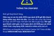 Cảnh báo trò lừa đảo tin nhắn giả ngân hàng
