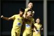 Thắng U17 Phú Yên, U17 SLNA  theo chân U17 Học viện Nutifood vào bán kết