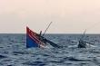 Tàu chấp pháp Indonesia va chạm tàu cá Việt Nam khiến 4 ngư dân mất tích