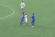 Video: Cầu thủ Nam Định, Phú Thọ đá thô bạo, đánh nhau giữa trận đấu tập