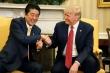 Tổng thống Trump tiết lộ cuộc điện đàm đặc biệt với Thủ tướng Nhật Abe