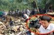 Thắt lòng bức ảnh phóng viên khóc nghẹn khi thi thể em bé Trà Leng được tìm thấy
