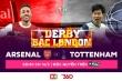Xem 'Derby Bắc London' với gói tích hợp kênh K+ trên ứng dụng di động TV360