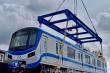 Đoàn tàu Metro số 1 cập cảng Khánh Hội