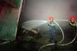 Ảnh: Lính cứu hỏa nỗ lực khống chế đám cháy lớn tại công ty dệt may ở Huế