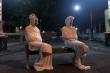 COVID-19: Cảnh sát dọa ma, bày quan tài dọa người trốn cách ly