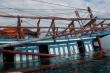 Đi cứu tàu cá gặp nạn, 12 thuyền viên suýt mất mạng gần đảo Phú Quý
