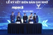 VinBus và NAPAS ký thỏa thuận hợp tác thanh toán thẻ vé điện tử