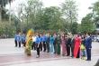 Hội Hữu nghị Việt - Nga dâng hoa tưởng niệm lãnh tụ V.I.Lenin