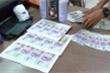 Chán in ấn chuyển sang in tiền giả rồi rao bán trên facebook