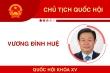 Infographic: Chân dung Chủ tịch Quốc hội Vương Đình Huệ