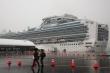 Nhật Bản xác nhận 70 ca COVID-19 mới trên tàu du lịch Diamond Princess