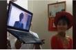 Lạ lùng đám hỏi 'xuyên lục địa': Cô dâu Việt, chú rể Nhật làm lễ cưới 'online'