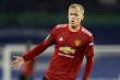 Van de Beek đăng ảnh gây sốc sau lần đầu đá chính cho Man Utd ở Ngoại hạng Anh