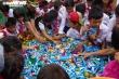 Lính biên phòng mang Trung thu đến với trẻ em nghèo biên giới Việt - Lào