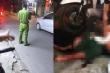 Mâu thuẫn tình cảm, người phụ nữ bị đâm trọng thương trên phố Hà Nội
