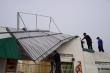 Lốc xoáy thổi bay hàng chục mái nhà ở Gia Lai
