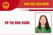 Infographic: Sự nghiệp Phó Chủ tịch nước Võ Thị Ánh Xuân