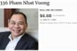 Forbes cập nhật tài sản của ông Phạm Nhật Vượng sau 6 tháng