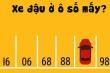 Đố bạn xe ô tô đang đỗ ở ô số mấy?