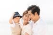 Sau ly hôn, Ngọc Lan thoải mái chia sẻ clip của con trai và chồng cũ