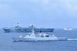 Nhóm tàu sân bay Anh mang theo bao nhiêu chiến hạm khi tiến vào Biển Đông?