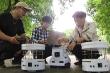 Sinh viên Hà Nội sáng chế 3 robot cứu nạn