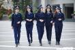 Ngắm ảnh kỷ yếu đẹp long lanh của nữ sinh học viện cảnh sát