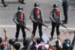 Cảnh sát Myanmar bắn đạn cao su vào người biểu tình