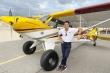 Nam vương Tiến Đoàn bỏ nghề người mẫu, sang Mỹ dạy lái máy bay