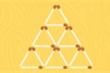 Bỏ 5 que diêm nào để giữ lại 5 hình tam giác bằng nhau?