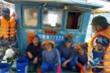 Đuổi tàu cá Trung Quốc vào đánh bắt trái phép ở vùng biển Quảng Trị