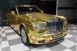 Tỷ phú Ấn Độ tậu xe Rolls-Royce Phantom mạ vàng làm... taxi