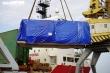 Ảnh: Robot đào hầm dự án đường sắt Nhổn - ga Hà Nội cập cảng Hải Phòng
