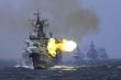 Trung Quốc tập trận bắn đạn thật ở 3 vùng biển