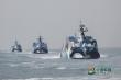 Tàu chiến Trung Quốc neo đậu trái phép ở Đá Vành Khăn