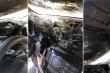 Nước khử trùng để trong ô tô dưới trời nắng có thể gây cháy xe?