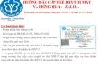 BHXH tỉnh Gia Lai thực hiện cấp thẻ BHYT qua mạng xã hội Zalo