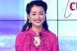 MC Quỳnh Chi diện áo dài dát vàng, trị giá 20.000 USD dẫn chương trình