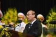Thủ tướng xúc động đọc điếu văn tiễn biệt nguyên Tổng Bí thư Lê Khả Phiêu