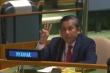 Đại sứ Myanmar rưng rưng cầu cứu Liên Hiệp Quốc giải thoát dân khỏi quân đội
