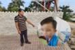 Người cứu cậu bé bị chủ tra tấn kể lại thời khắc nạn nhân đứng co ro cạnh chùa