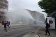 COVID-19: Cảnh sát Đức dùng vòi rồng giải tán người biểu tình