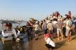 Lật ghe trên sông Thu Bồn, 5 người mất tích