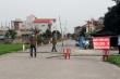 Ảnh: Phong tỏa thôn có ca dương tính với SARS-CoV-2 ở Hà Nam