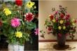 Mẹo hay cắm hoa tươi lâu ngày Tết