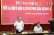 Hủy chuyến công tác, lãnh đạo tỉnh Thái Bình họp khẩn chống dịch COVID-19